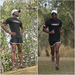 Thomas G - Nike Dry Fit Hat, Brooks Running Shorts, Adidas Trail Running Shoes, Livewire Energy - Livewire Energy