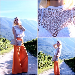 Teresa Morone - Micaela Coscia Pants And Top - Micaela Coscia total look