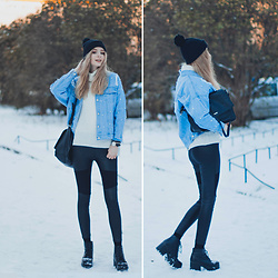 Mary Volkova - Denim Jacket - Winter is here