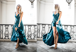 Payton Sartain - Planet Blue Dress - Jewel Toned