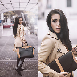 Mia Di Domenico -  - Black, brown  & beige