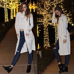 Ashley McCormick - Topshop Cropped Turtle Neck, Topshop Boots - Winter Feels