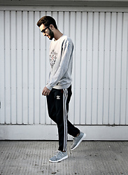 Abdel - Styleart Sweatshirt, Sd Sneakers - SPORTY