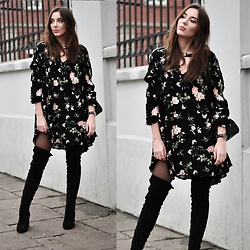 Kinga Winiarska -  - Floral dress
