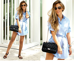 Zaichkina Lusia - Thayer Dress - Perfect shirt-dress from Miami