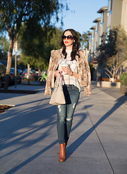 Lisa Valerie Morgan - Kate Spade Satchel, Adriano Goldschmied Jeans, Calvin Klein Boots - Fall Afternoon
