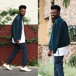 Vernon M. -  - White, Stripes & Denim