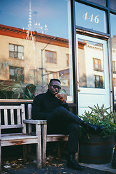 STEVEN ONOJA - Brett Johnson Turtleneck - The weekend.