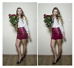 Marcela Wlodarczyk - Zara Blouse, Stradivarius Skirt - Bday girl