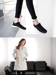 Lorietta.cz - Zara Black And White Sneakers With Faux Leather Details, Zara Beige Raincoat, Faux Leather Bag - Beige Raincoat