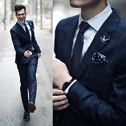 Chris Nicholas - Indochino Plaid Suit - 203