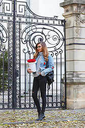 Larisa Costea -  - Embroidery denim jacket