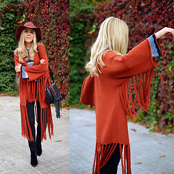 Cris M. - Asos Cardigan - Fringes Everywhere