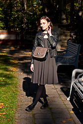 Anna Puzova - Dresslink Jacket, Silversands Dress, Halens Shoes, New Look Bag - A Dress That Lasts