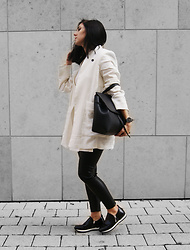 Kat I. - Mango Blazer, Zara Pants, Nr Rapisardi Shoes, Daniel Wellington Watch - Mf/112516
