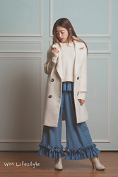 Mei Wakasa -  - Wear Overcoat and Culottes This Winter