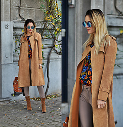 Ruxandra Ioana - Chicwish Coat, Poppy Lovers Top, Sammydress Booties, Sammydress Sunglasses - I feel it coming