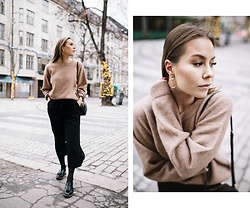 Katarina Lilius - Filippa K Sweater, Zara Pants, Tamaris Loafers - FAVORITE SWEATER