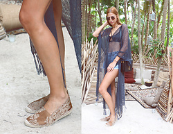 Andrea Gomez - Obistudio Espadrilles, Saint Laurent Bag - Tulum vibes with my OBISTUDIO