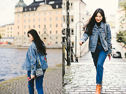 MAGIC YANG -  - Denim girl