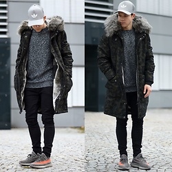Lukas L. -  - Camo Grey Silver Combination