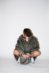 Matthew Reinhold - Cleverhood Cape, Saucony Sneaks - Cosplay: Jon Snow