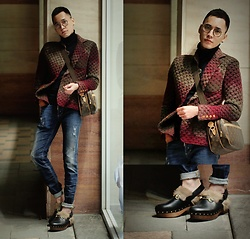 Chris Su - Gucci Shoes - Warm This Winter