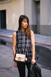 Whitney D -  - Plaid Peplum