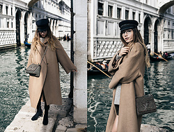 Bea G - Coat, Shoes, Bag, Hat - La Dolce Vita