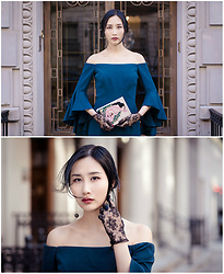 Tina Lee - Milly Off The Shoulder Dress, Olympia Le Tan Clutch - Reimagining The Handmaiden, Part 1