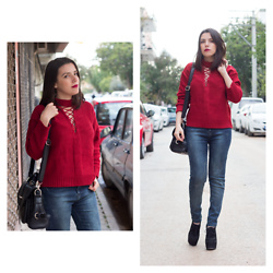 Emel Acar - Sammydress Top, Oasap Bag - Red Addict