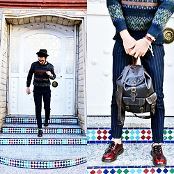 Fouad joy - Dr. Martens Dr, Umo, Missoni - Classic it's a level only for elite people
