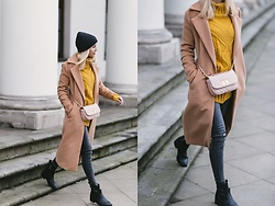 Ida Cupas - Coat, Sweater - :)