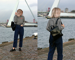 Manon Dijkhuizen - Gamiss Bag, Cos Jeans - At least I'm being honest about it