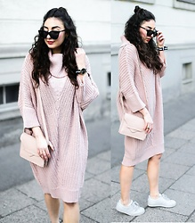 Samieze -  - Chunky Knit Dress