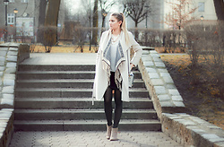 Dominika P. - Mango Coat, Sheinside Cardigan, Bershka Boots, New Look Bag - 113