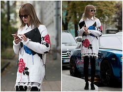 Anastasiia Masiutkina - Msgm Sweater, Stuart Weitzman Boots, Kenzo Bag, Gucci Glasses - Love from a first sight!