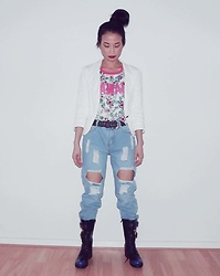 Hanna From HOLLAND - Romwe Boyfriend Jeans - Cool baby