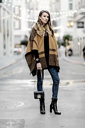 Elise Gabriel -  - Ummm... Hello Forever 21 Poncho, You're Killing It