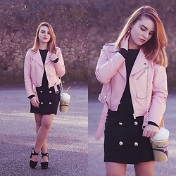 Carina Gonçalves - Zara Jacket, Dresslilly Skirt, Sammydress Purse, Pull & Bear Sandals - 'Cause once upton a time you were my everything