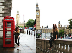 Francesca S - Brandy Melville Usa Sweater, Cheap Monday Jeans, Nike Internationals, Daniel Wellington - London
