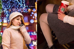 Taya Tuk - White Christmas Hot Chocolate, Divided Skirt - 水瀬伊織
