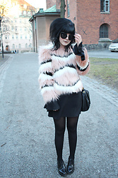 Panda . - Quay Sunglasses, Ivyrevel Faux Fur - CANDY FAUX FUR