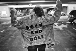 Iwona - Dsm Jeans Jacket - ROCK AND ROLL