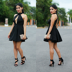Dulce Part - Nasty Gal Shanghai Surprise Cutout Dress, Nasty Gal Shanghai Surprise Cutout Dress - New Years Eve LBD