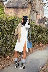 Kiera Cox - H&M Sweat Dress - Dress my sweater...