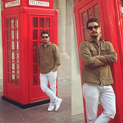 ♚ Mr.Prince Vadaan ♚ - H&M Shirt, Zara Jeans - Global Village Dubai