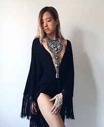 Da Li - Forever 21 Necklace, H&M Robe - Oriental