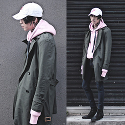 IVAN Chang - Tastemaker 達新美 Trench Coat, Nike Cap, Tastemaker 達新美 Top, Asos Jeans, Asos Boots - 020117 TODAY STYLE