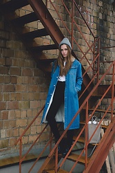 Daniela Guti - Coat - Winter kind of Denim